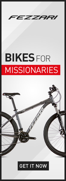 Fezzari Bikes for Missionaries